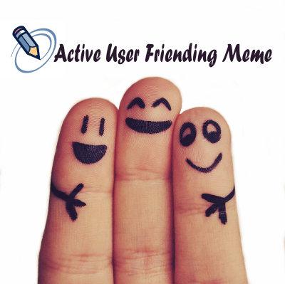 Active User Friending Meme